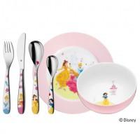 Zestaw obiadowy dla dzieci Księżniczki Disney 6 części WMF