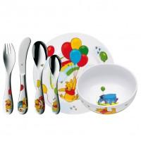 Zestaw obiadowy dla dzieci Kubuś Puchatek 6 części WMF