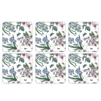 Podkładki Botanic Garden Chintz 10.5x10.5 cm Pimpernel