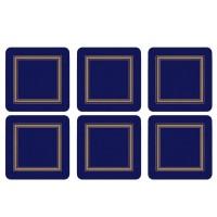 Podkładki Classic Midnight 10.5x10.5 cm Pimpernel