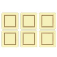 Podkładki Cream Classic 10.5x10.5 cm Pimpernel
