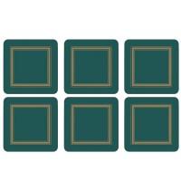 Podkładki Emerald Classic 10.5x10.5 cm Pimpernel