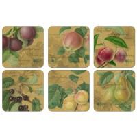 Podkładki Hooker Fruit Gold 10.5x10.5 cm Pimpernel