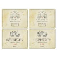 Podkładki Vin de France 30.5 x 23 cm Pimpernel