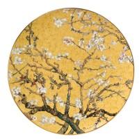 Talerz ścienny Almond Tree Gold śr. 36 cm Vincent van Gogh Goebel