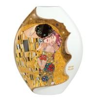 Wazon Pocałunek 30cm Gustaw Klimt Goebel
