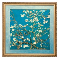 Obraz Almond Tree 68x68cm Vincent van Gogh Goebel