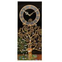 Zegar Drzewo Życia 40cm Gustaw Klimt Goebel