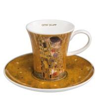 Filiżanka espresso Pocałunek 100ml Gustaw Klimt Goebel