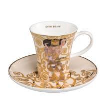 Filiżanka espresso Oczekiwanie 100ml Gustaw Klimt Goebel