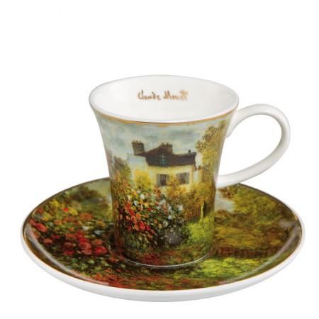 Filiżanka espresso Dom Artysty 100ml Claude Monet Goebel