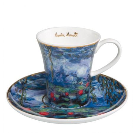 Filiżanka espresso Lilie wodne 100ml Claude Monet Goebel