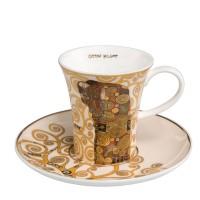 Filiżanka espresso Spełnienie 100ml Gustaw Klimt Goebel