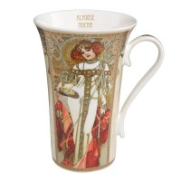 Kubek Autumn / Winter 450ml Alphonse Mucha Goebel