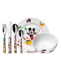 Zestaw obiadowy dla dzieci Myszka Miki 6 części WMF