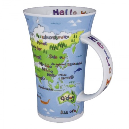 Kubek Glencoe Hello World 500ml Dunoon