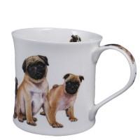 Kubek Wessex Designer Dogs Pugs 300ml Dunoon