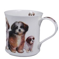 Kubek Wessex Designer Dogs Shih Tzus 300ml Dunoon
