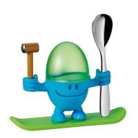 Kieliszek na jajko niebieski McEgg WMF
