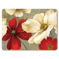 Podkładki Flowers CT 29 x 21.5 cm, 6 szt