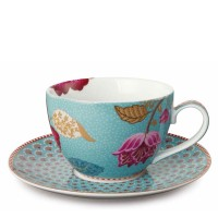 Filiżanka cappucino Fantasy Blue 280ml Pip studio