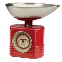 Waga kuchenna Vintage czerwona Typhoon