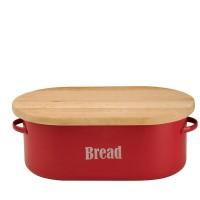 Pojemnik na chleb Vintage Kitchen czerwony Typhoon