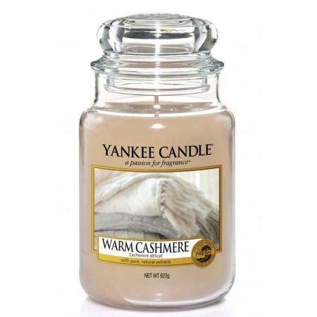 Świeca duża Yankee Candle Warm Cashmere