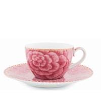 Filiżanka espresso Spring to life pink 80ml Pip studio