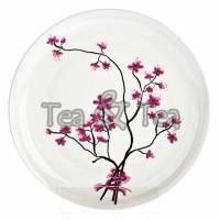 Talerz Kwiat Wiśni śr. 19cm Tea Logic