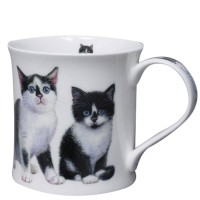 Kubek Wessex Kittens Black & White 300ml Dunoon