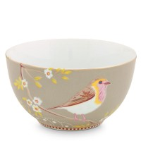 Miska Early Bird Khaki Floral 15cm Pip Studio