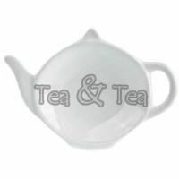 Podstawka czajniczek biała Tea Logic