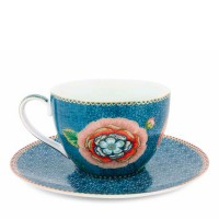 Filiżanka cappucino Spring of  life Blue 280ml Pip studio