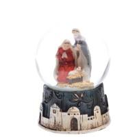 Mini kula wodna Święta Rodzina 4.5 cm