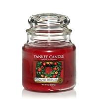 Świeca średnia Red Apple Wreath