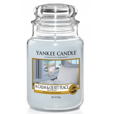 Świeca duża A calm & quiet place Yankee Candle