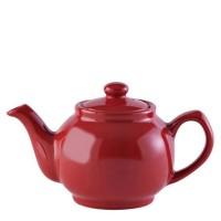 Imbryk do herbaty 450ml czerwony P&K