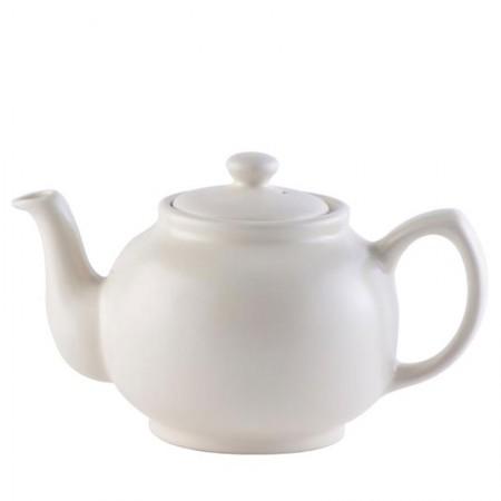 Imbryk do herbaty 1.1l kremowy P&K
