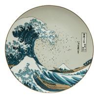 Talerz ścienny Great Wave śr. 36 cm Hokusai Katsushika Goebel
