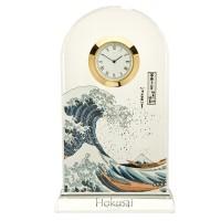 Zegar Great Wave 18.5cm Hokusai Katsushika Goebel