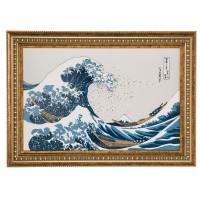 Obraz Great Wave 58x41 cm Hokusai Katsushika Goebel