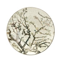 Talerz ścienny Almond Tree Silver śr.34.5 cm Vincent van Gogh Goebel