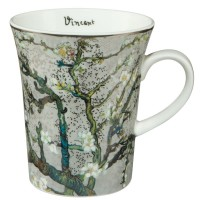 Kubek Almond Tree Silver 400ml Vincent van Gogh Goebel