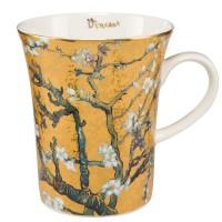 Kubek Almond Tree Gold 400ml Vincent van Gogh Goebel