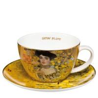Filiżanka cappucino Adele 250 ml Gustaw Klimt Goebel