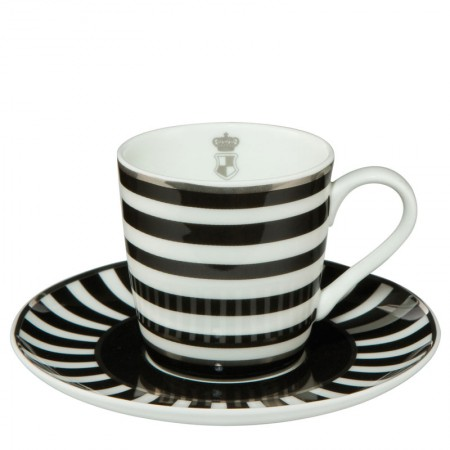 Filiżanka espresso Stripes 100ml Cháteau Goebel