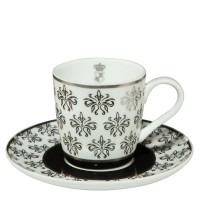 Komplet filiżanek espresso Floral 100ml Cháteau Goebel