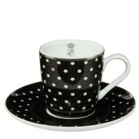 Komplet filiżanek espresso Dots 100ml Cháteau Goebel