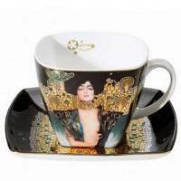 Filiżanka kawowa Judyta 250ml Gustaw Klimt Goebel
